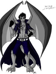 Gargoyle Ares Oo by KiraSaintclair