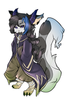 Notearl's Transformice Adventures Character [MAGE] by Sunnyaan-peachtea