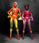 Electra Woman and Dyna Girl Baned.2