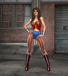 Wonder Woman Back Street