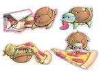Tiny Turtle Munchies by Aphilien