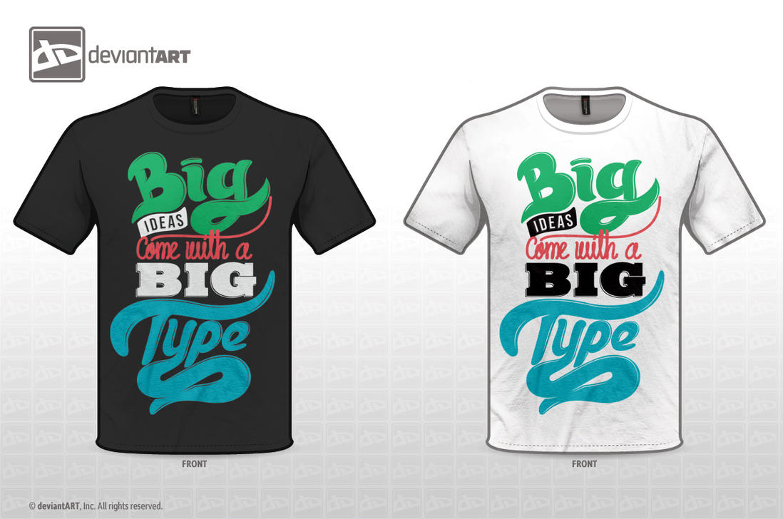 Big ideas comes with a Big type by zhompi