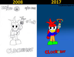 The Clockobat comparision by ConkerGuru