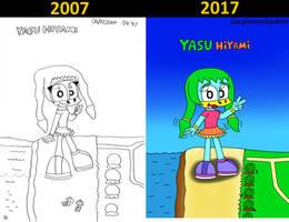 Yasu Hiyami comparision by ConkerGuru