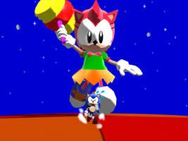Tiny Sonic Chase 1 by ConkerGuru