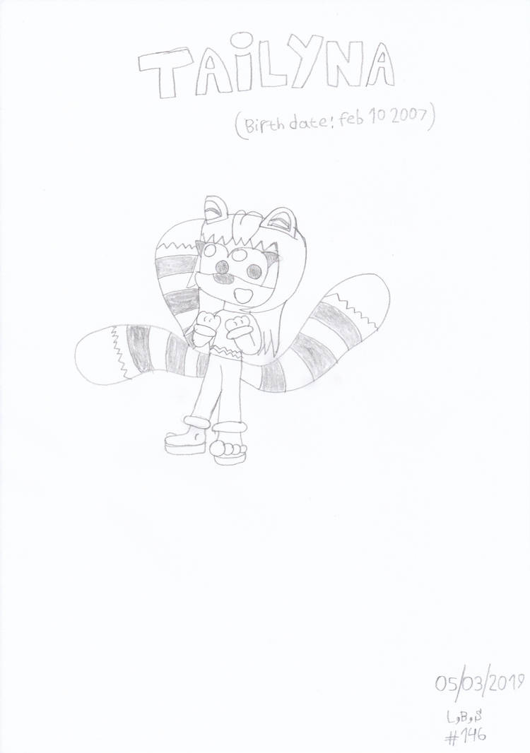 Tailyna (Original design) by ConkerGuru
