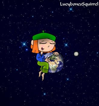 Earth cuddle by ConkerGuru