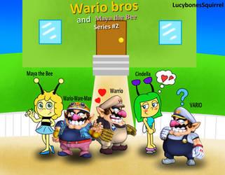 Wario bros and Maya the Bee series 2 poster by ConkerGuru