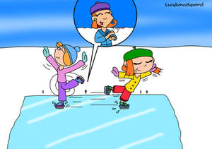 The BIG ice skaters