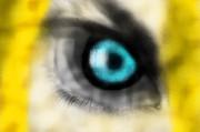 Deidara eye by AlextheHedgeBat