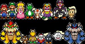 Mario + Luigi-Style Attempt