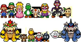 Mario + Luigi-Style Attempt by Neslug