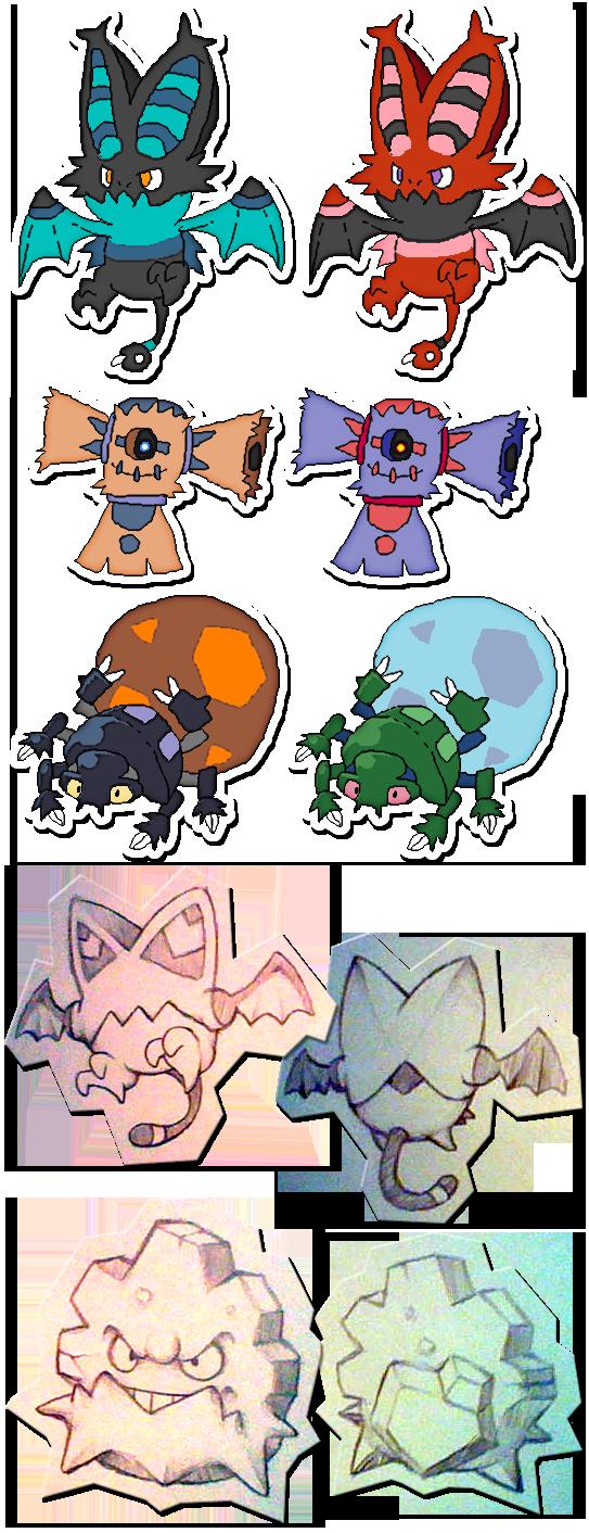 Project Kralum - Pokemon Design Concepts by Neslug