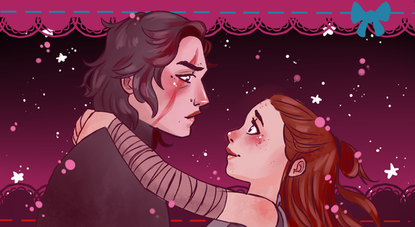 Reylo Pouch by InuGurl107