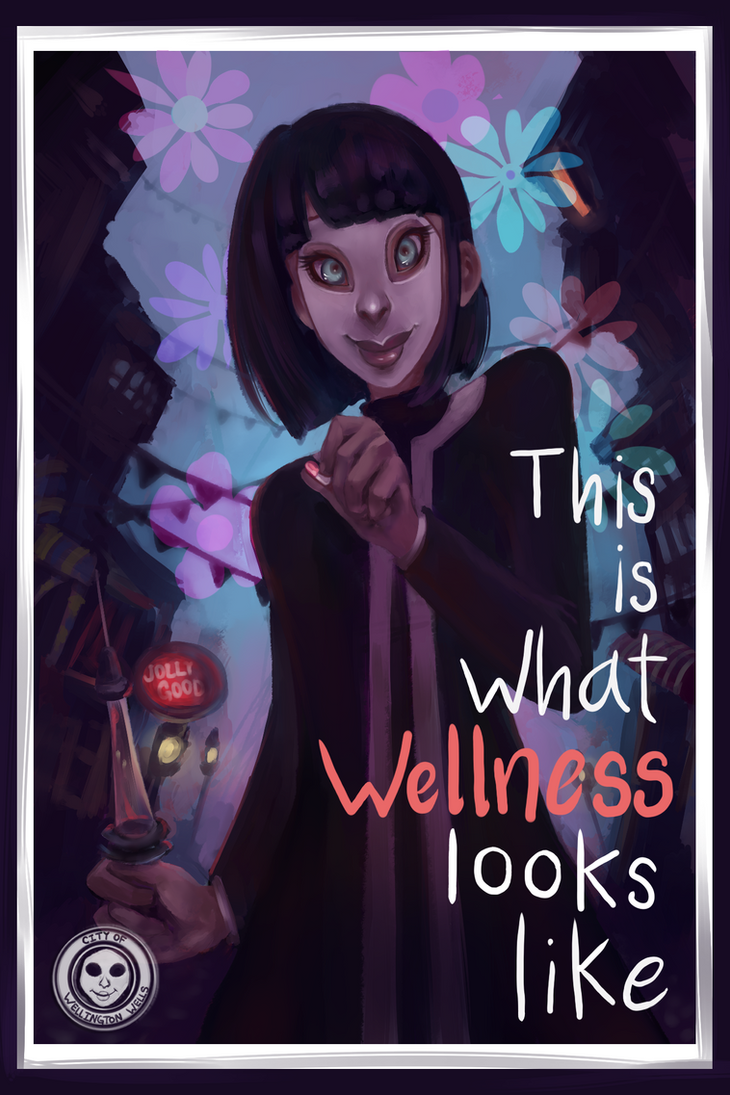 We Happy Few Postcard by Krystal-Johnson-Art