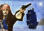 A Captain With His Ship