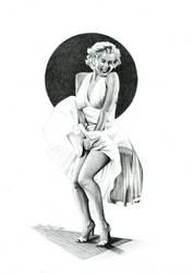 Marilyn Monroe by Correlation