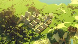 Minecraft: small village