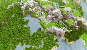 Minecraft: Landscape HD