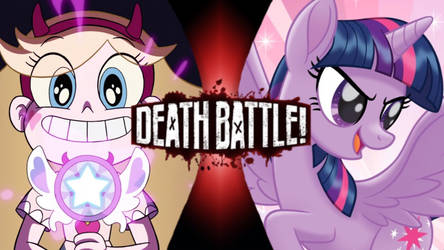 Star Butterfly VS Twilight Sparkle by Darkvader2016