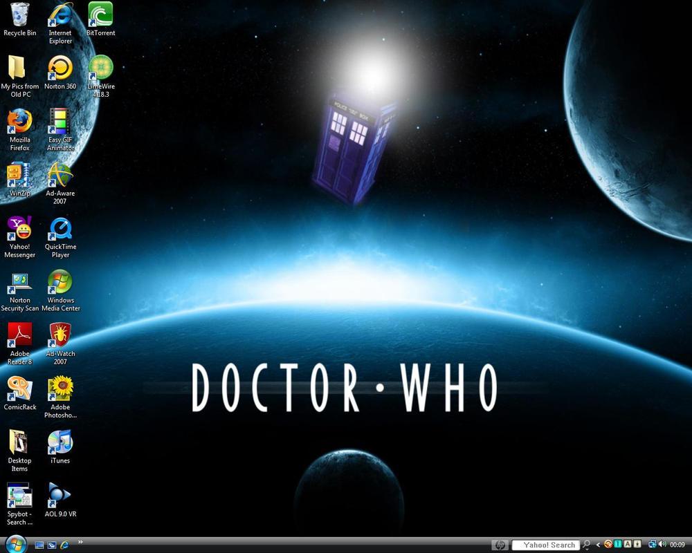 Desktop screenshot - Dr Who. by manicsfan