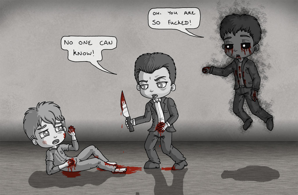 Outlast - Miles about to save Waylon by manicsfan