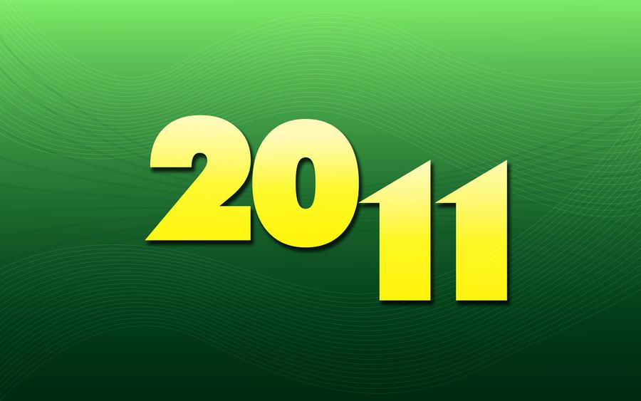 Happy New Year 2011 Wallpaper