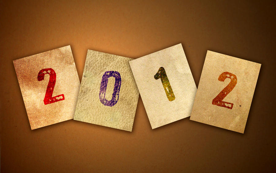 Happy New Year 2012 Wallpaper by whiteroselady