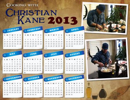Christian Kane Calendar 2013