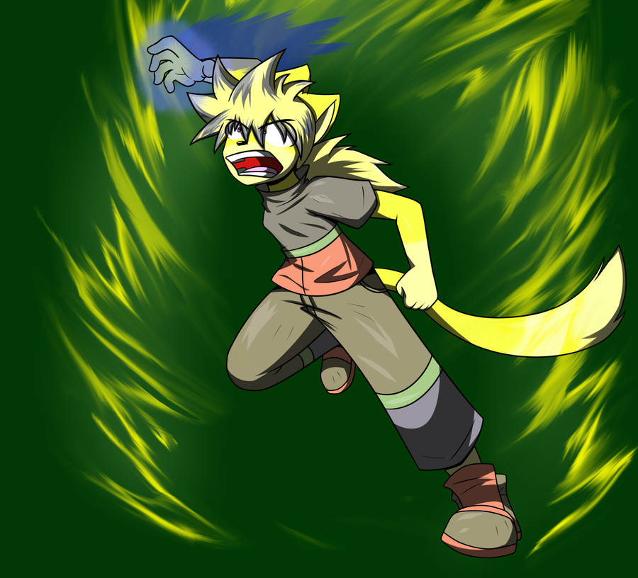 Razor Finger - Anthro Kai Mode by RaxkiYamato