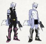 Wolf's Metal Legs