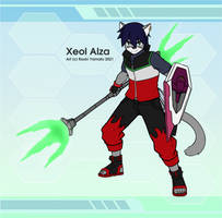 Xeol Alza Fighter Outfit