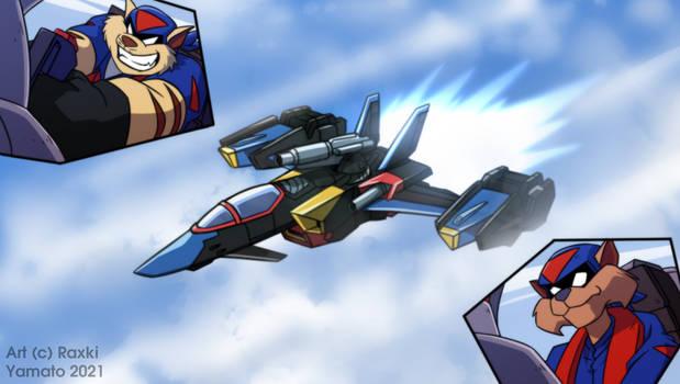 Gundam Skygrasper SWAT Kats Version
