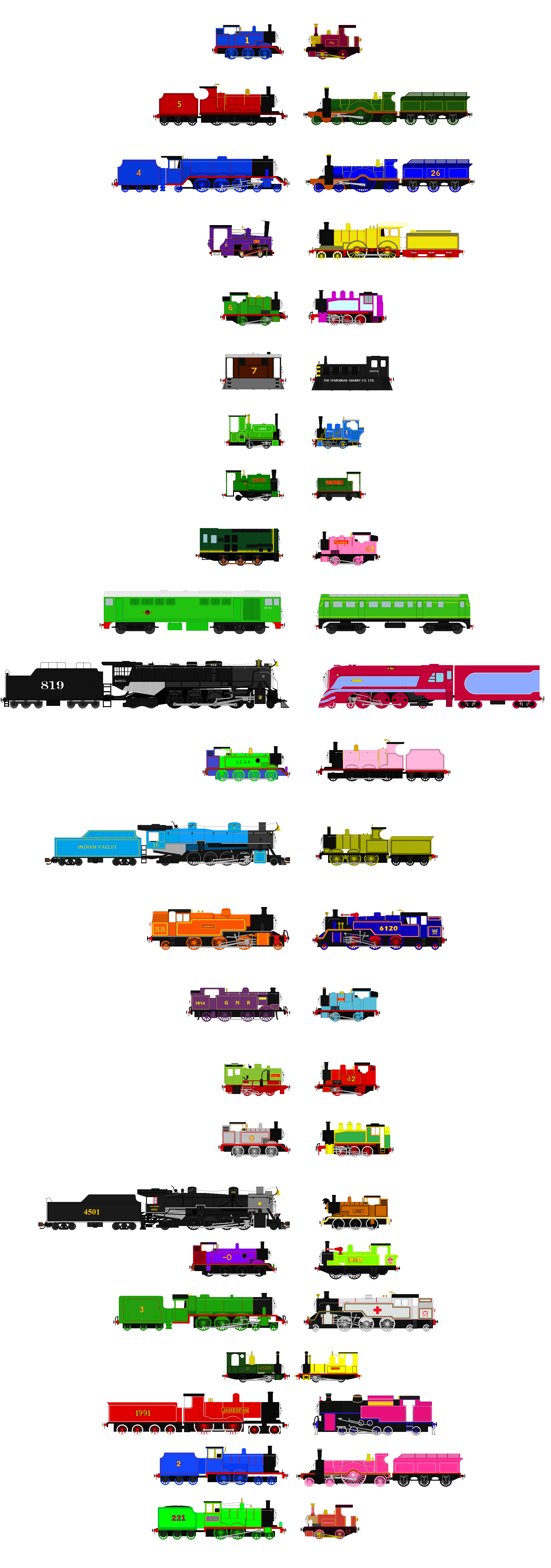 Image boco in trainz thomas and friends png scratchpad fandom - Favorite Thomas And Friends Loved Ones By Agent555 On
