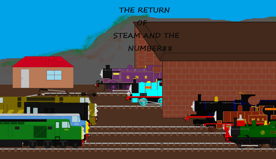The return of steam and the number 88 by agent555 on deviantart the return of steam and the number 88 by agent555 ccuart Images
