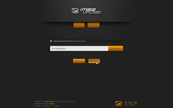 Image Upload Template - For sale