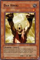 Dan Hibiki Yu Gi Oh Card by The-REAL-Killha