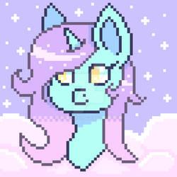 Pastel Sky's Pixel Art (reupload) (2018) (nf2u) by IrisBlue16