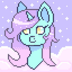 Pastel Sky's Pixel Art (reupload) (2018) (nf2u) by IrisBlue16