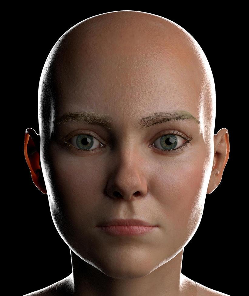 WIP Head girl by SergioGM