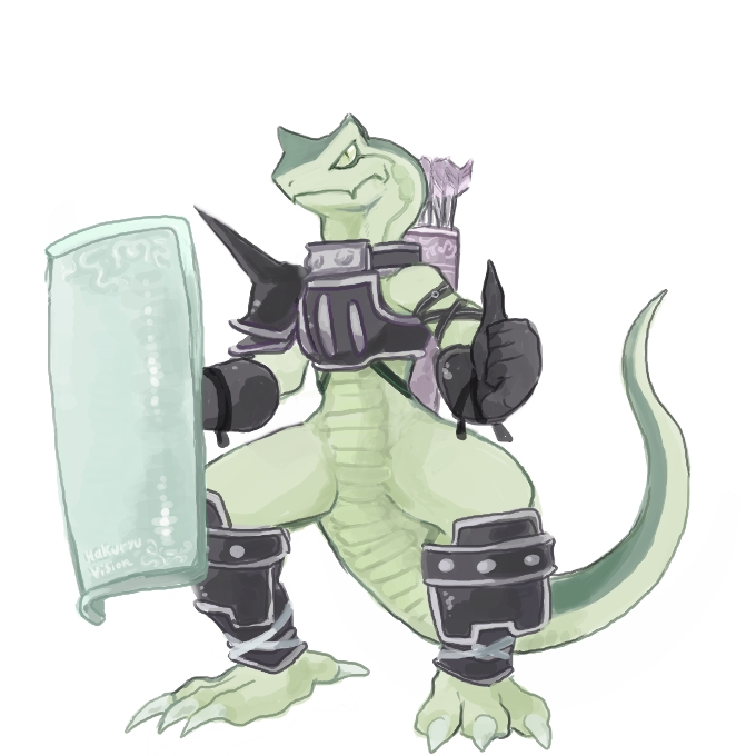 Lizardman by HakuryuVision
