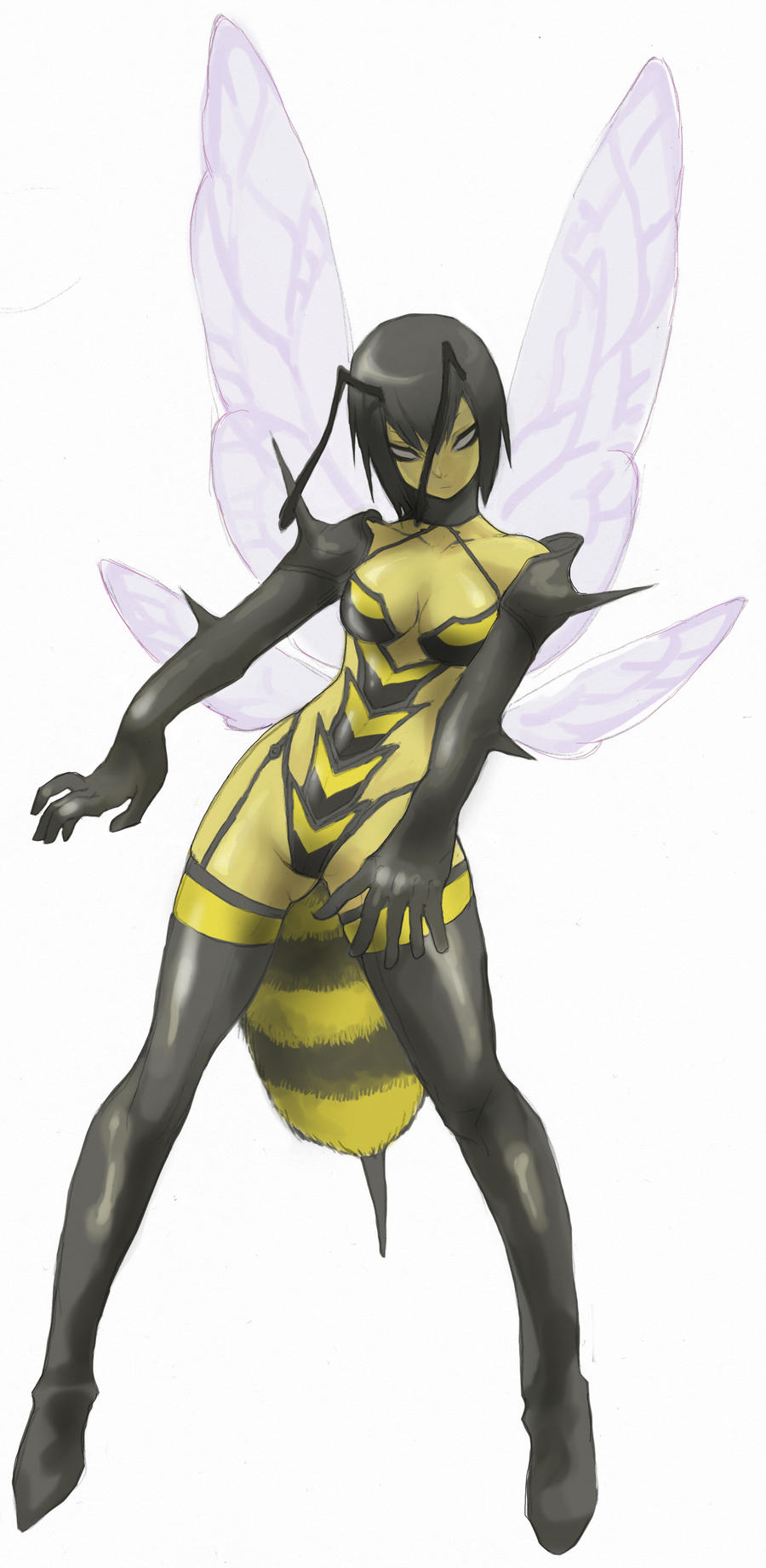 Wasp Girl by HakuryuVision on DeviantArt