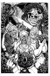 The Tres Pendejos by ckirkillustr8