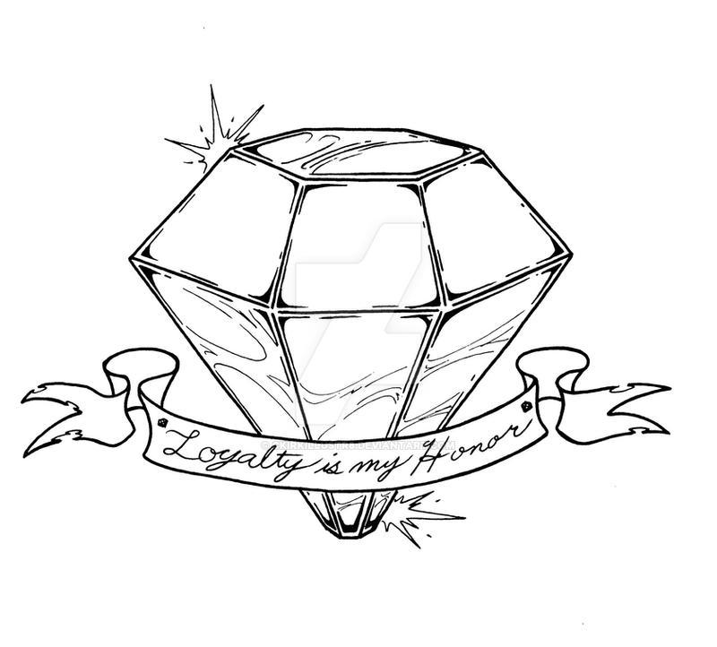 Diamond Tattoo by ckirkillustr8