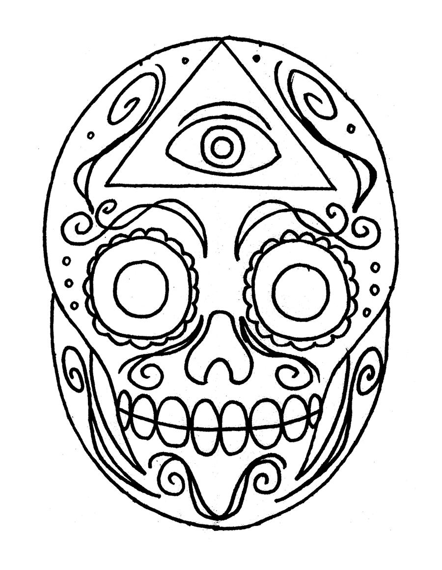 Sugar Skull by ckirkillustr8 on DeviantArt