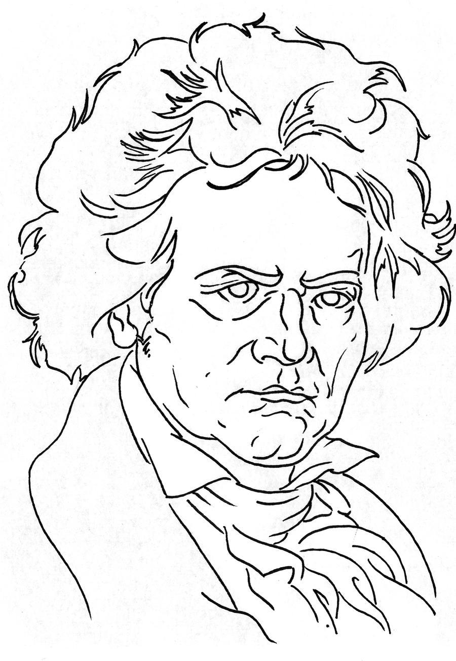 Beethoven By Ckirkillustr8 On DeviantArt