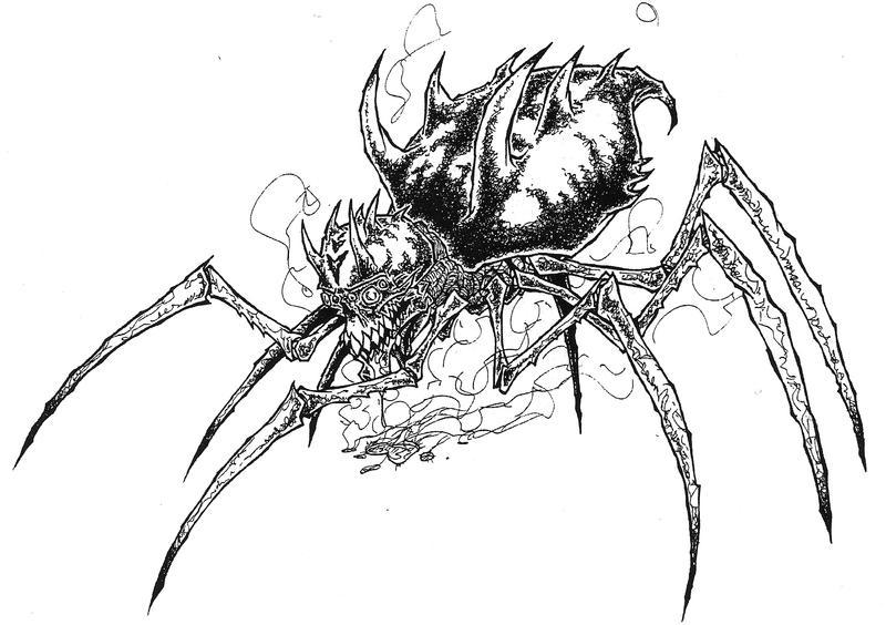 SPIDER by ckirkillustr8