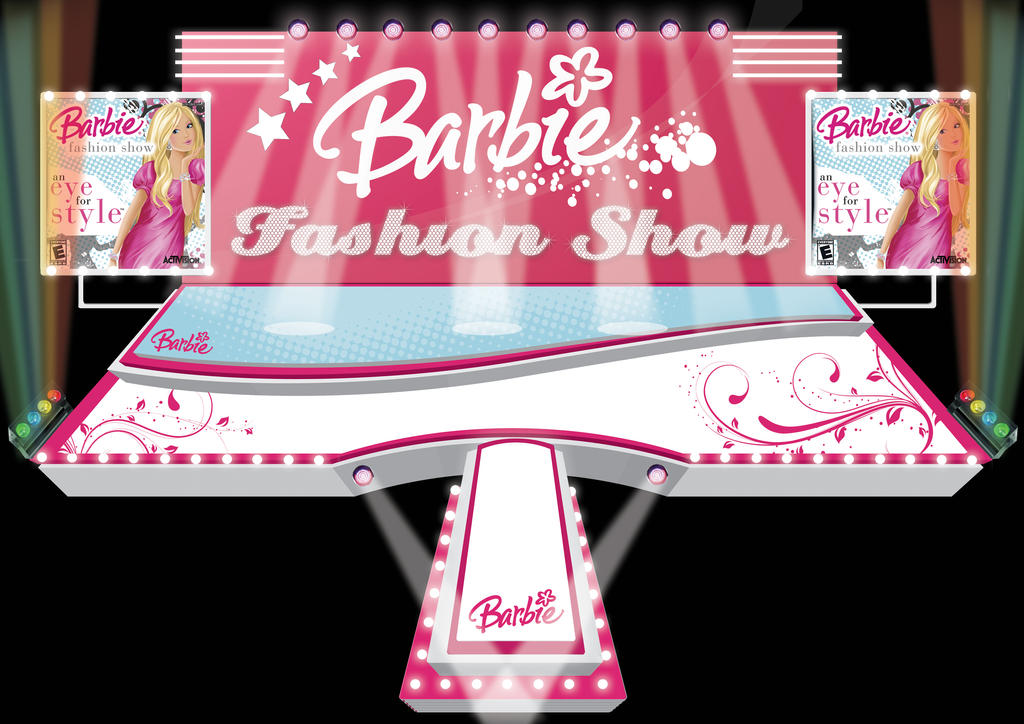 Barbie Show Stage Design By Quandesign On Deviantart