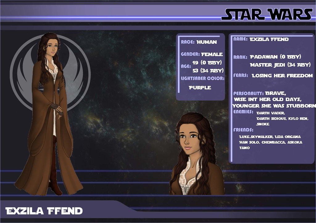 Star Wars OC Exzila Ffend by Quorra51000