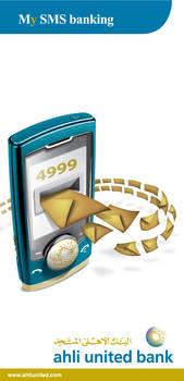 AUB My SMS Banking Flyer